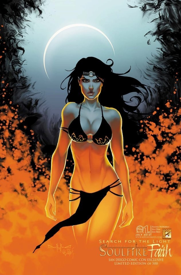 Soulfire - Faith cover color