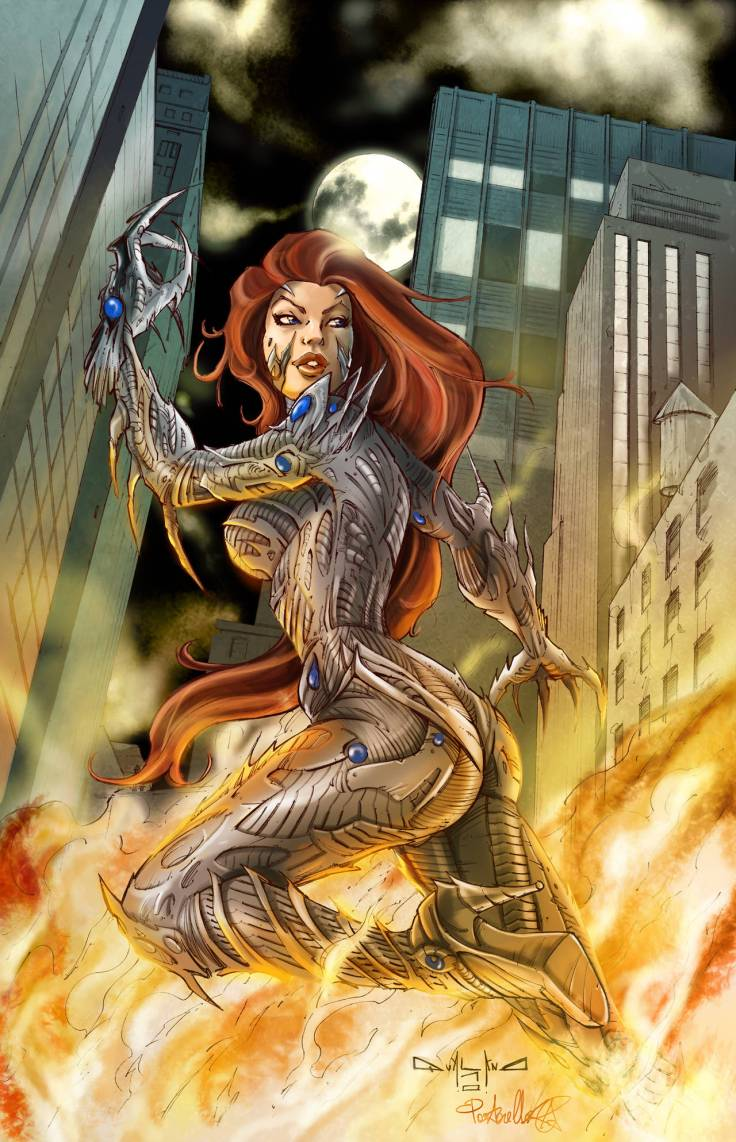 Witchblade color