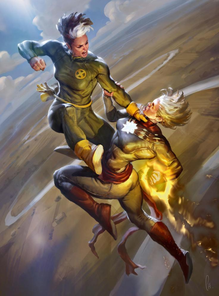rogue_vs_captain_marvel
