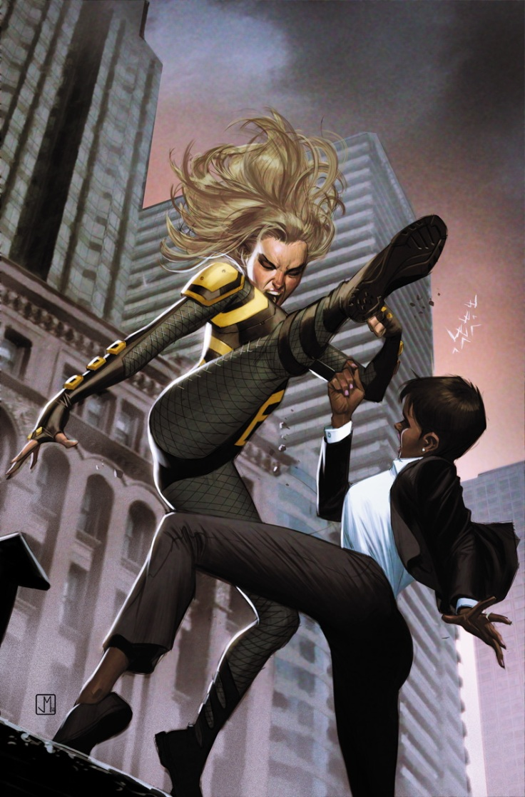 Black Canary Amanda Waller