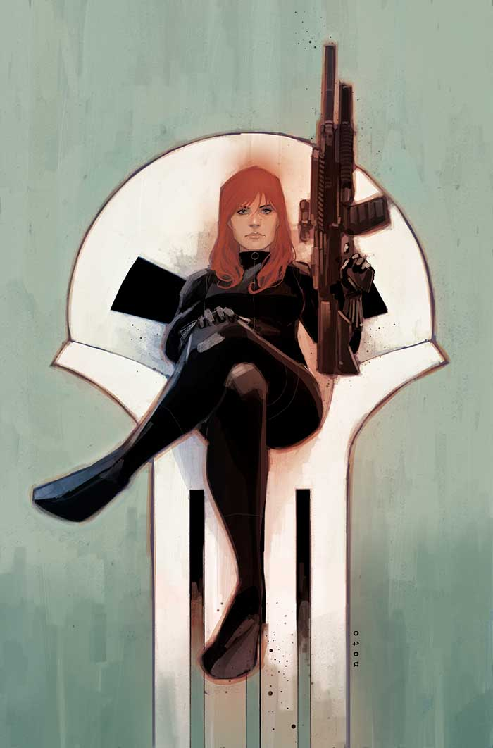black_widow_09_cover by PHIL NOTO
