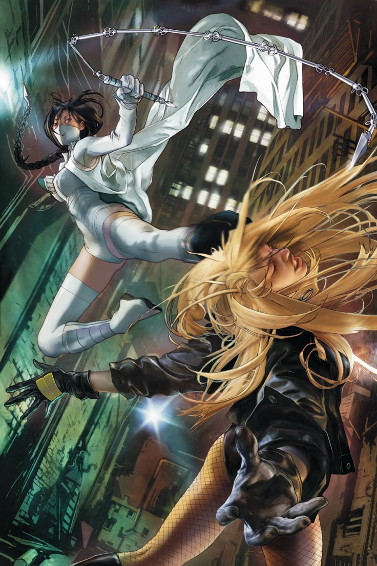 White_Canary_vs._Black_Canary
