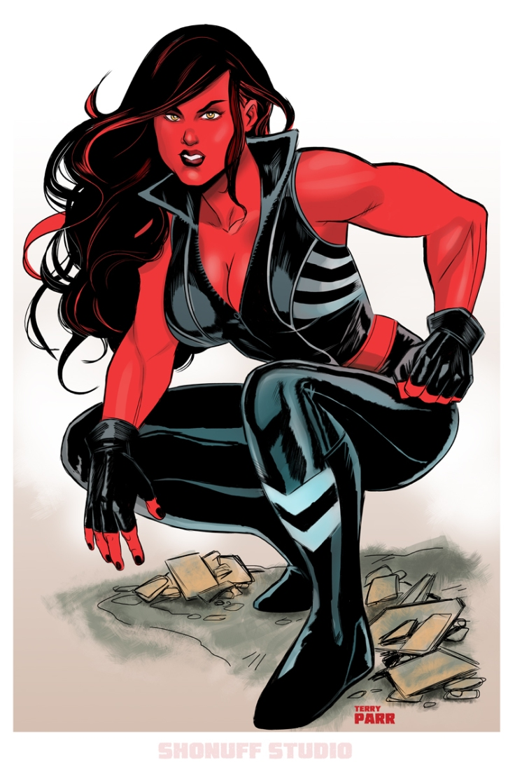 betty ross (Red She-Hulk)