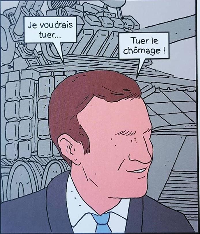 Le-nouveau-président-Yann-Rambaud-parodie-pouvoir-politique-emmanuel-macron-coll.-pataques-humour-tuer