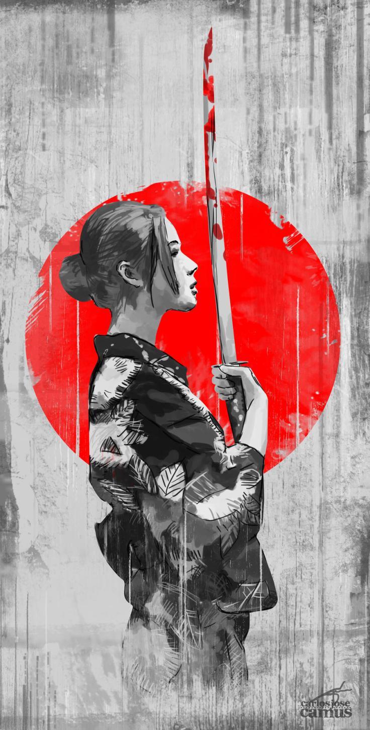 samurai_girl_by_hvfndr_carlos jose
