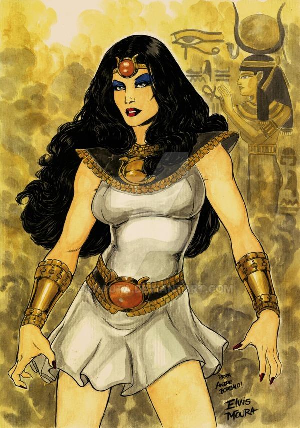 Adrianna Tomaz (Isis)