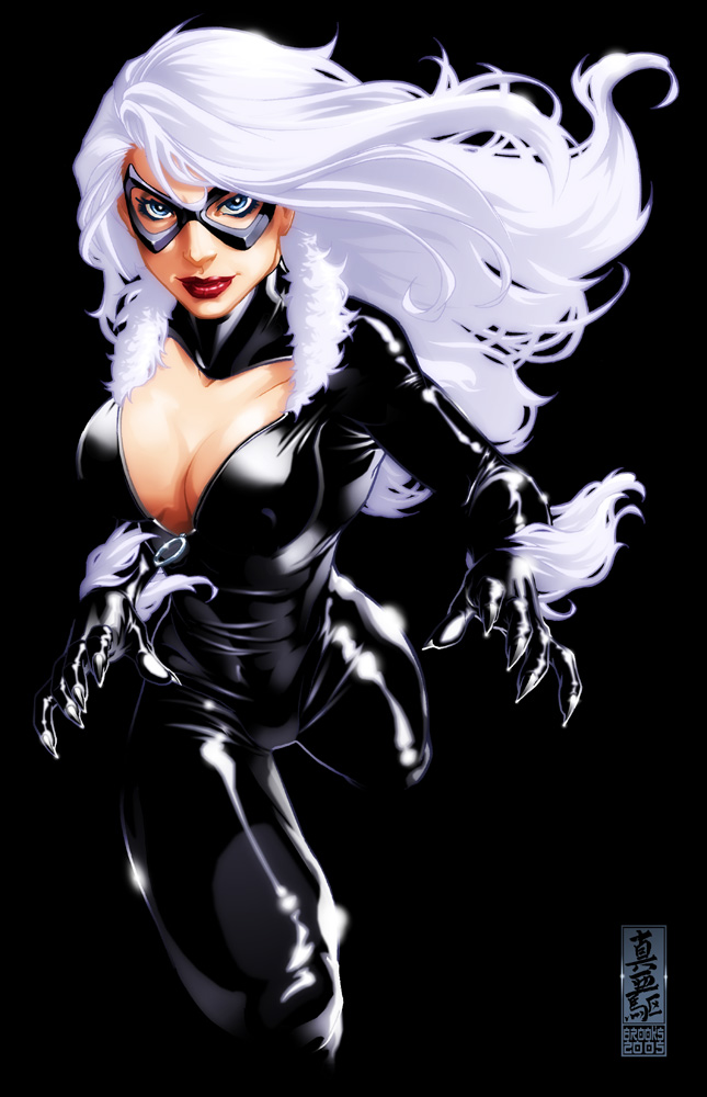 Black_Cat Art by Mark Brooks