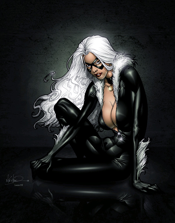 blackcat by Mike Miller