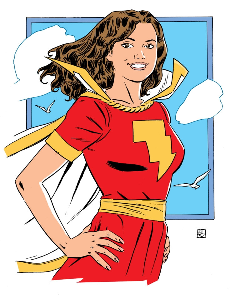 Mary Bromfield (Mary Marvel)