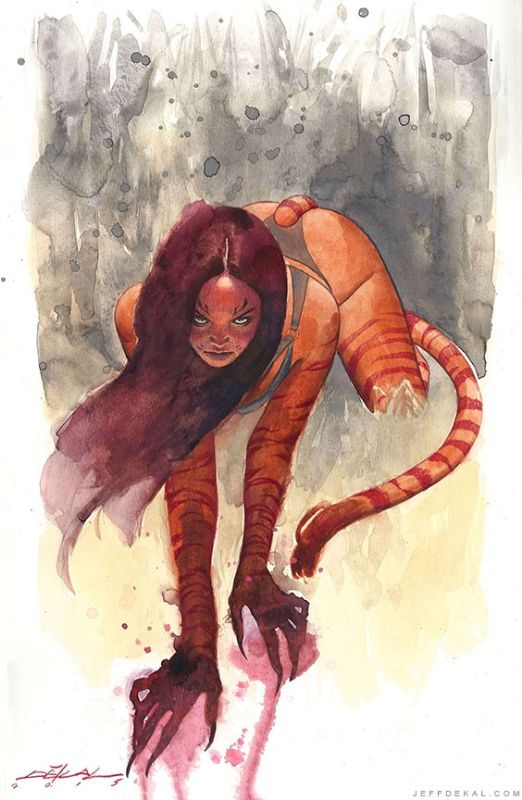 Tigra by Jeff Dekal