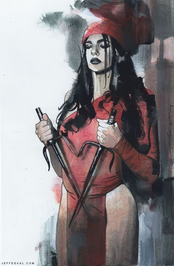 Elektra by Jeff Dekal