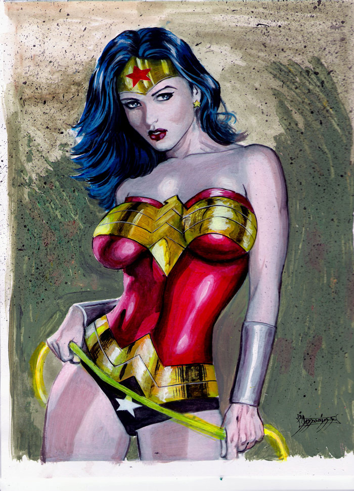 Wonder Woman by Di Amorim