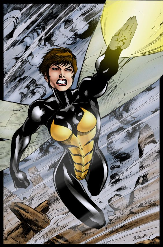 Janet Van Dyne (the wasp)