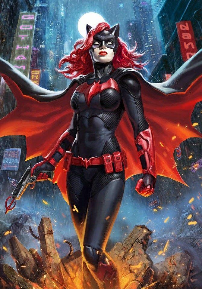 Kate Kane (batwoman) 1