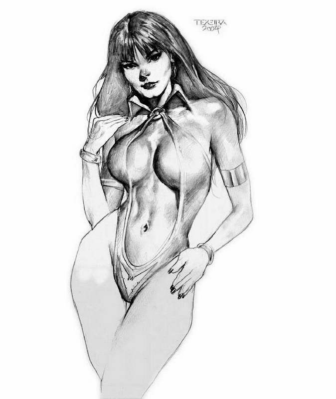 Texeira_Vampirella_Sketch