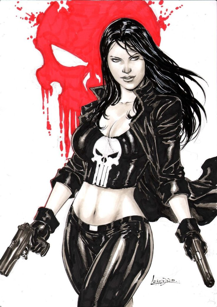 Rachel Cole-Alves (Lady Punisher)