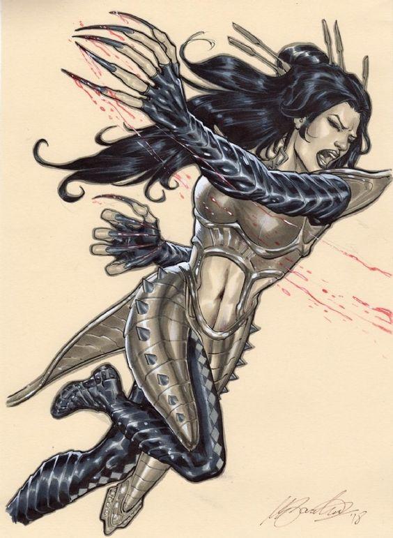 yuriko oyama (Lady Deathstrike)