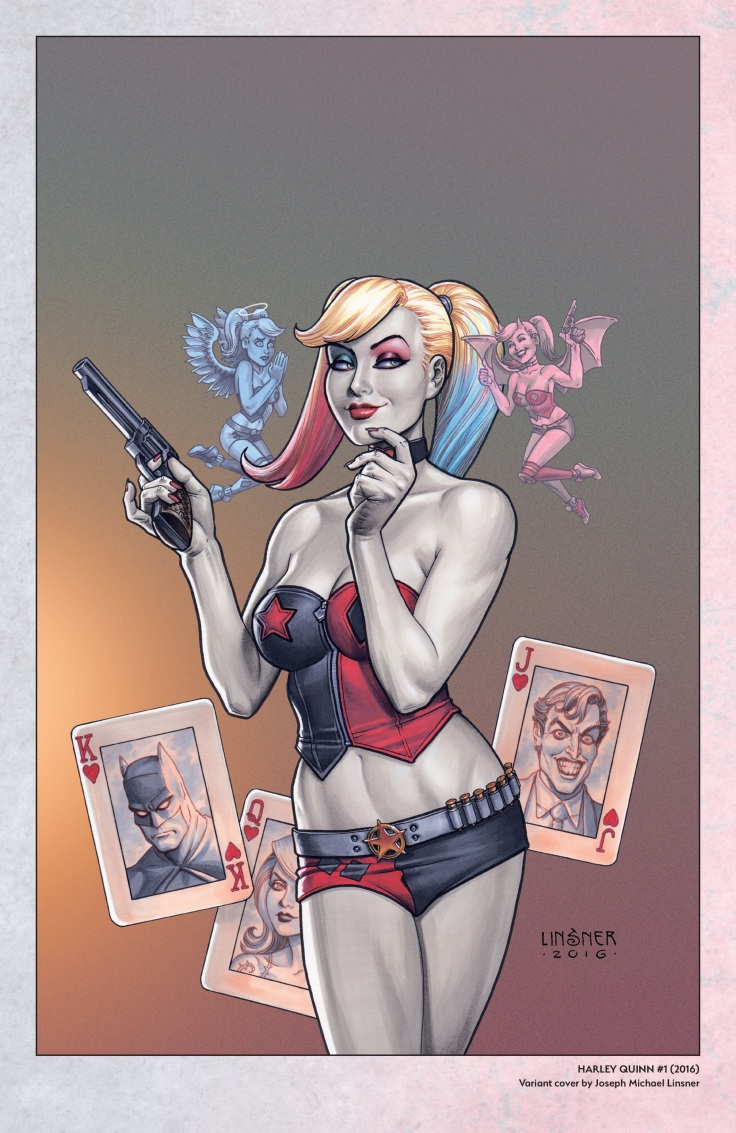 Harley Quinn - A Rogue's Gallery - The Deluxe Cover Art Collection-117