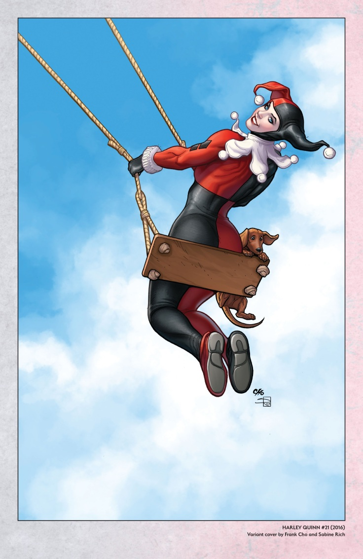 Harley Quinn - A Rogue's Gallery - The Deluxe Cover Art Collection-145