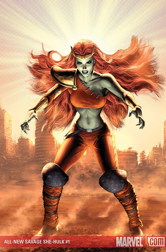 lyra (savage she-hulk)