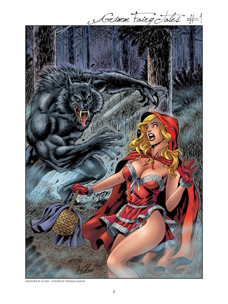 Grimm Fairy Tales - Art Book-002