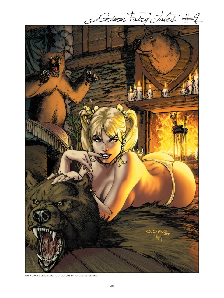 Grimm Fairy Tales - Art Book-020