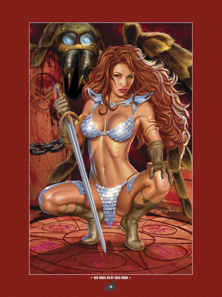 The Art of Red Sonja-043