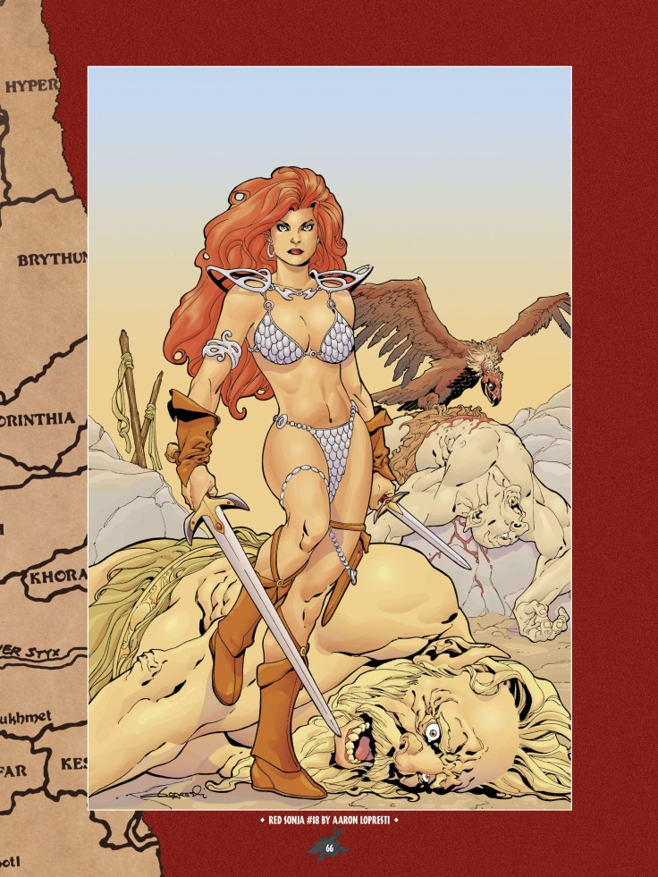 The Art of Red Sonja-064
