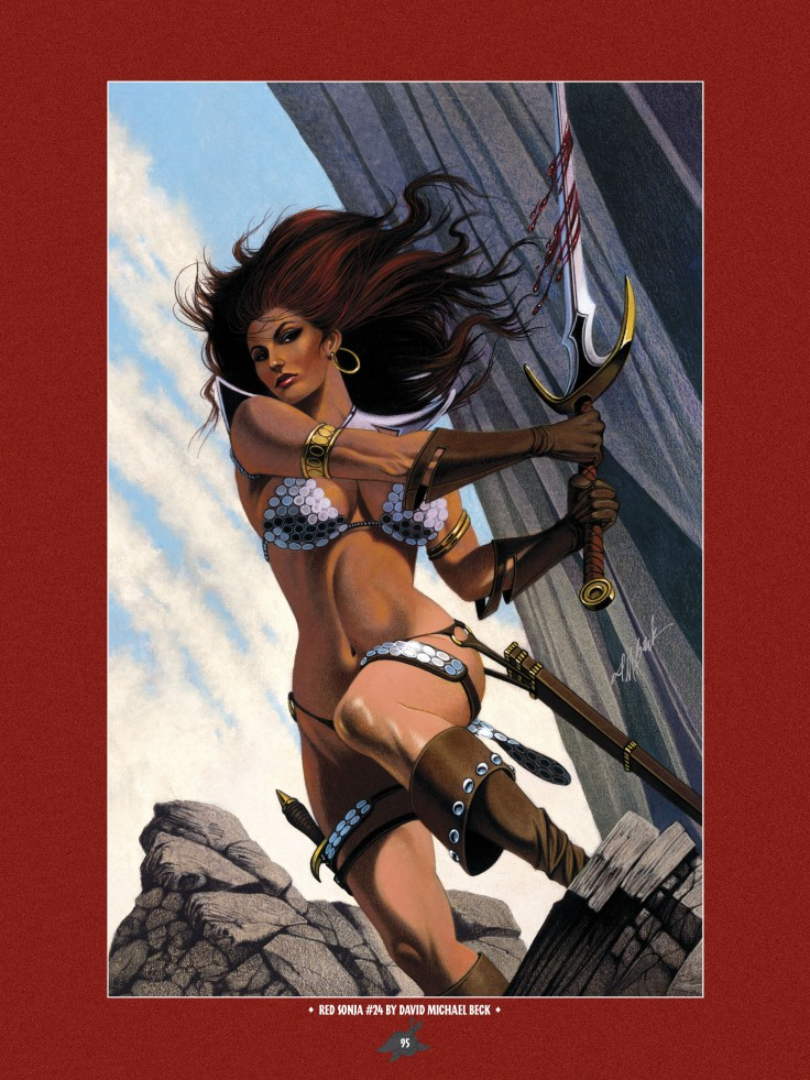 The Art of Red Sonja-093