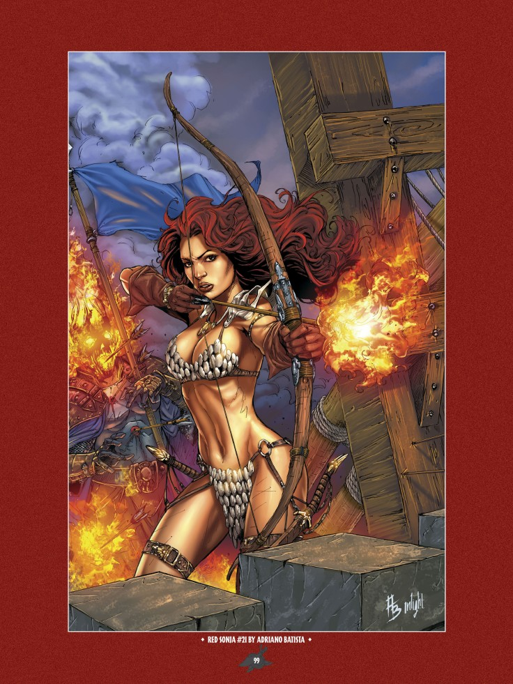 The Art of Red Sonja-097
