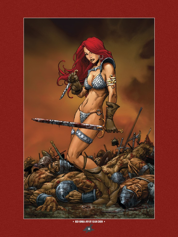 The Art of Red Sonja-109