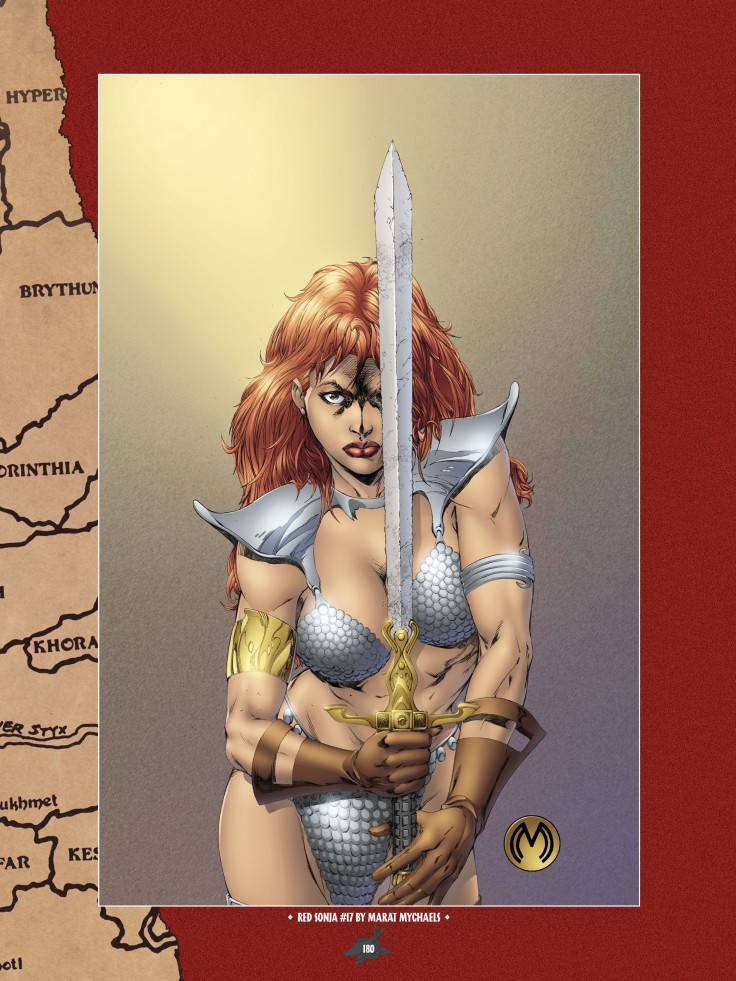The Art of Red Sonja-172