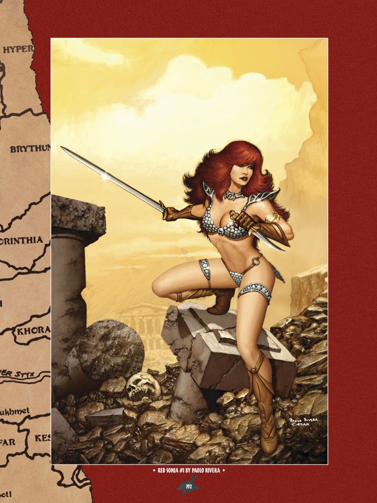 The Art of Red Sonja-183