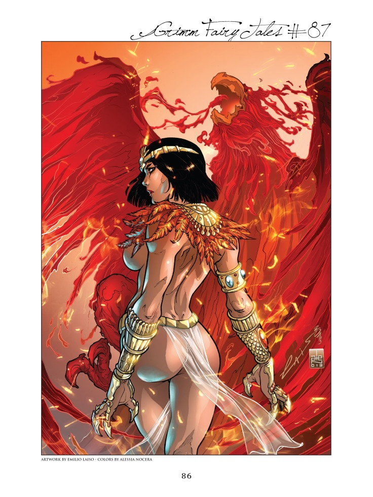 Grimm Fairy Tales Cover Art Book v02-086