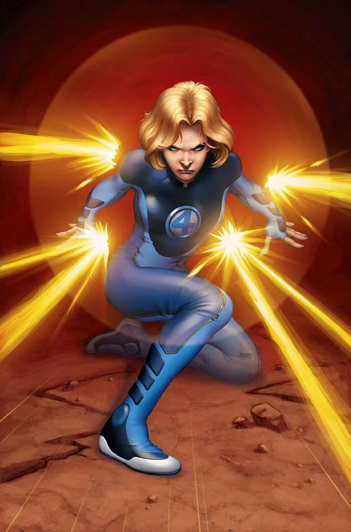 Sue Storm, the Invisible Woman