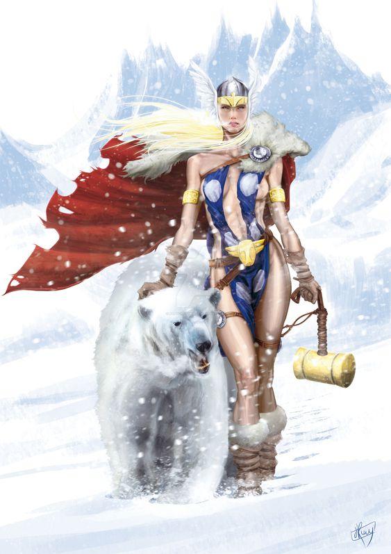 Tarene Olson (Thor girl)