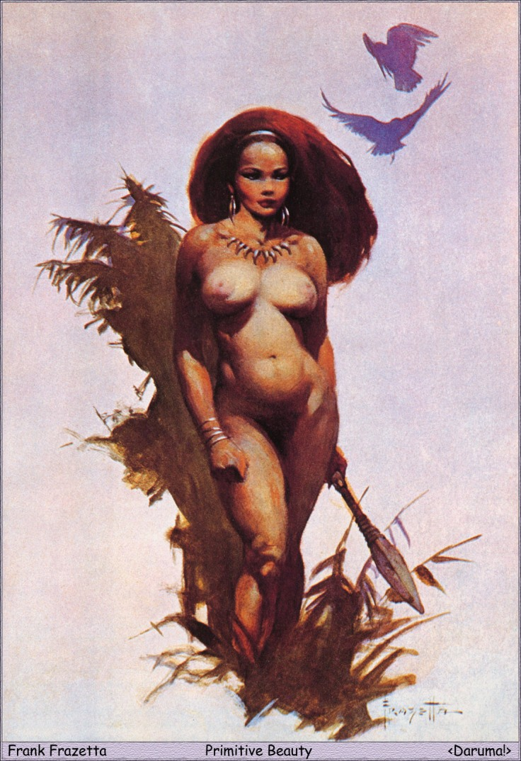 12_Daruma!__Frank_Frazetta__Primitive_Beauty