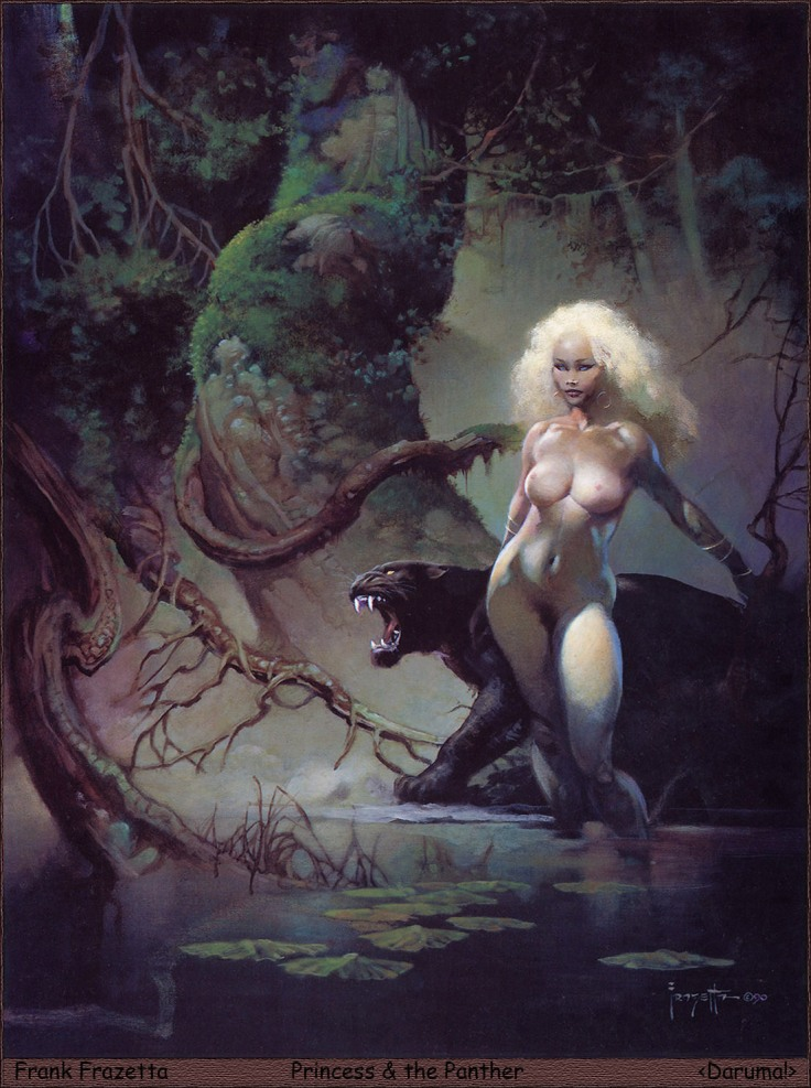14_Daruma!__Frank_Frazetta__Princess_&_The_Panther