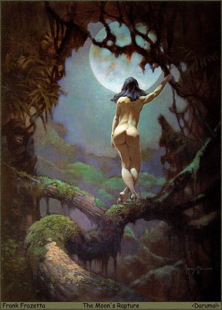 82_Daruma!__Frank_Frazetta__The_Moon's_Rapture