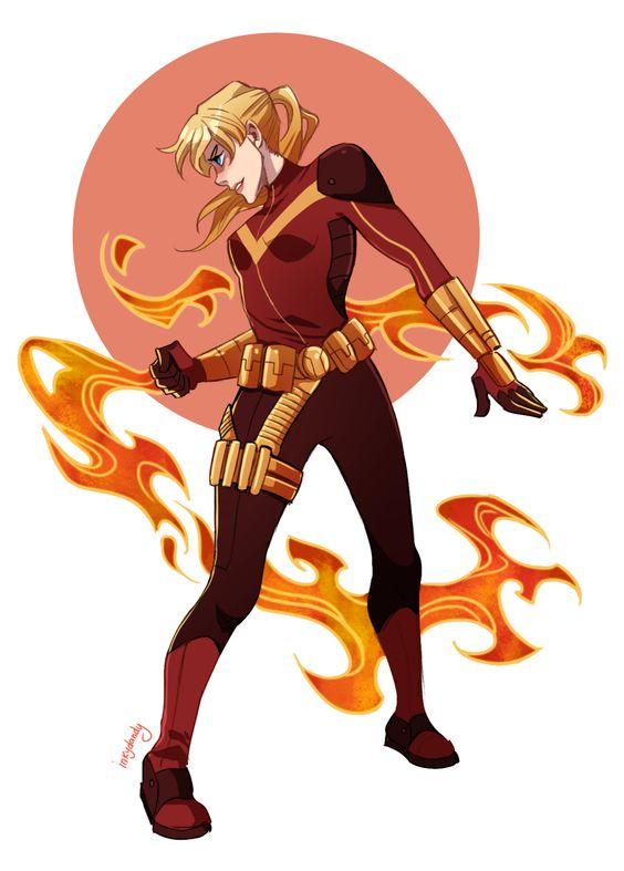 Betty Kane (BatgirlFlamebirdHawkfire)