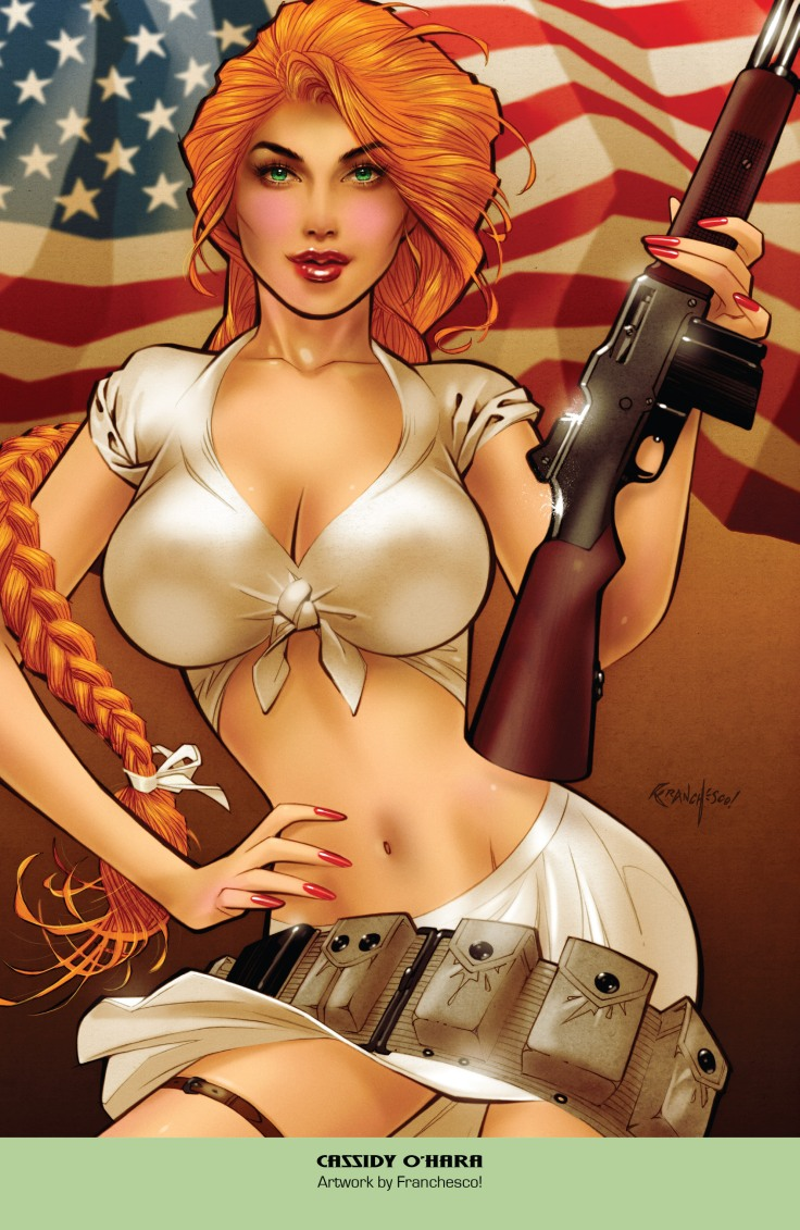 Grimm Fairy Tales 2019 Armed Forces Edition 001-015
