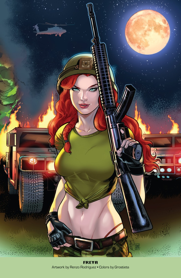 Grimm Fairy Tales 2019 Armed Forces Edition 001-018