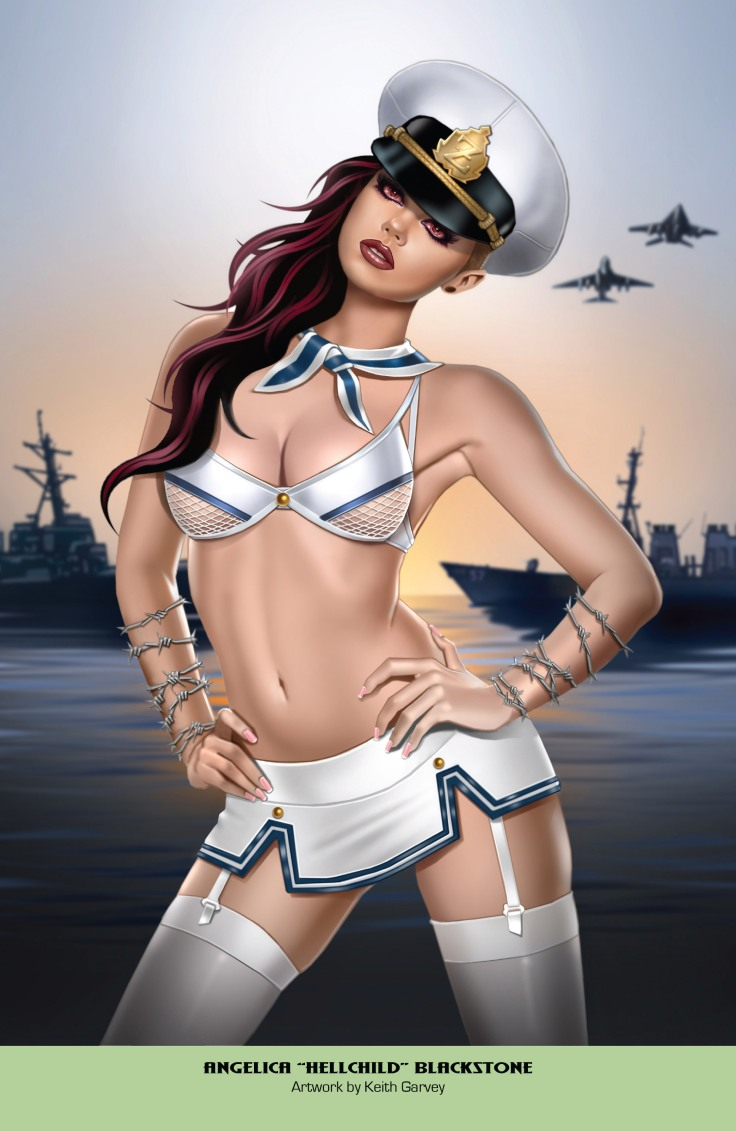 Grimm Fairy Tales 2019 Armed Forces Edition 001-019