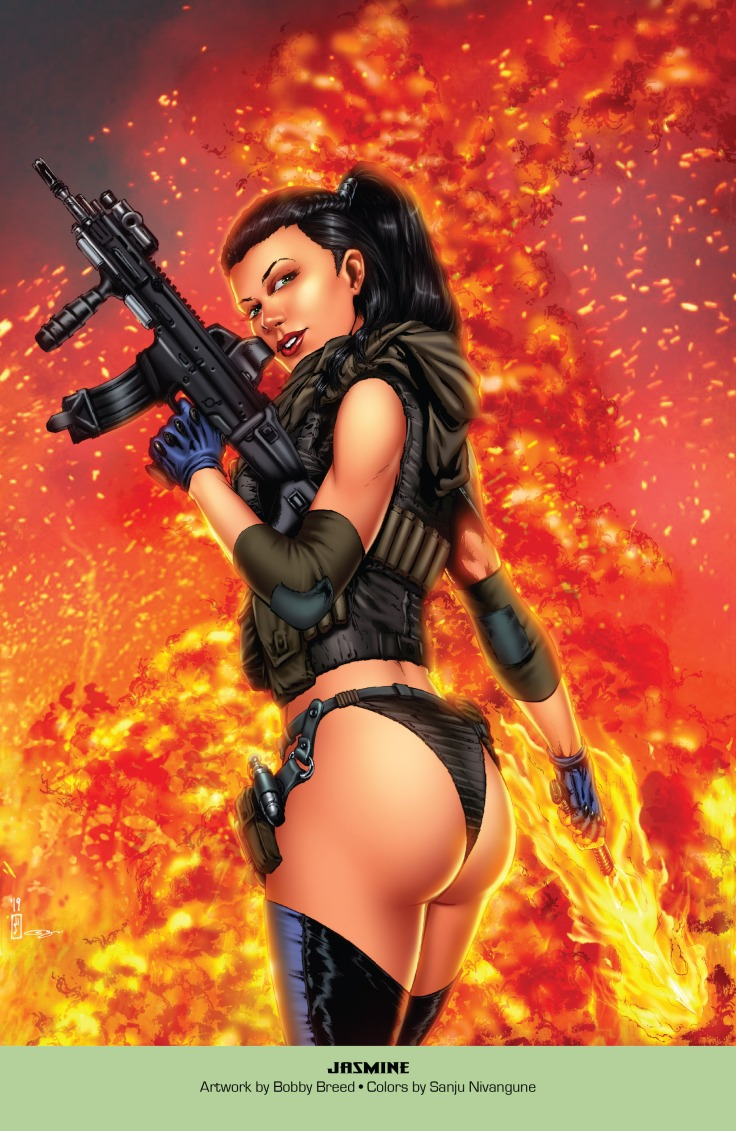 Grimm Fairy Tales 2019 Armed Forces Edition 001-025