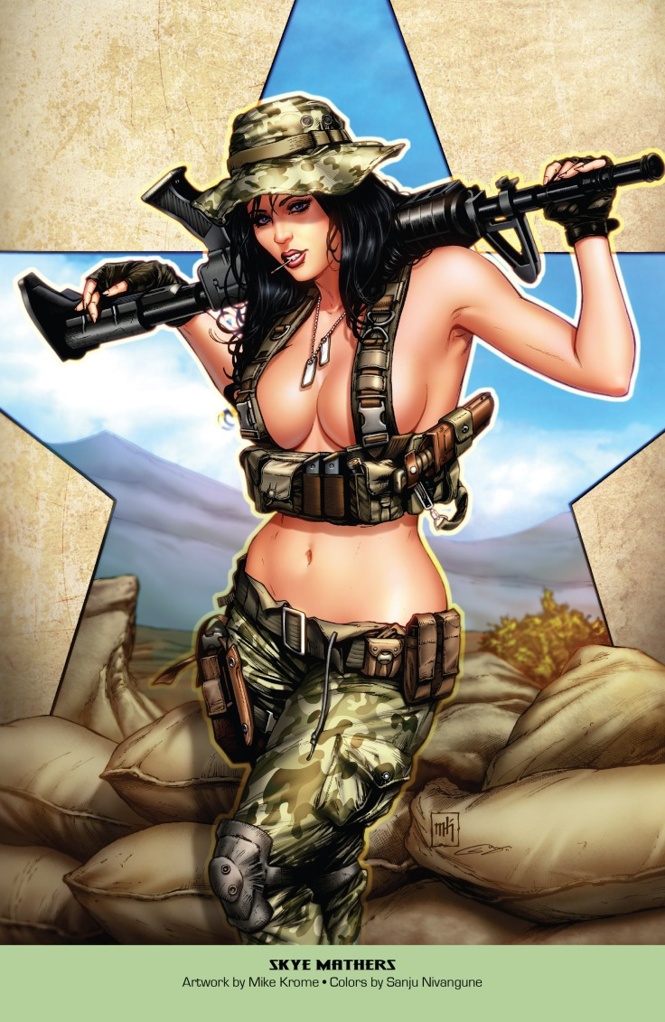 Grimm Fairy Tales 2019 Armed Forces Edition 001-027