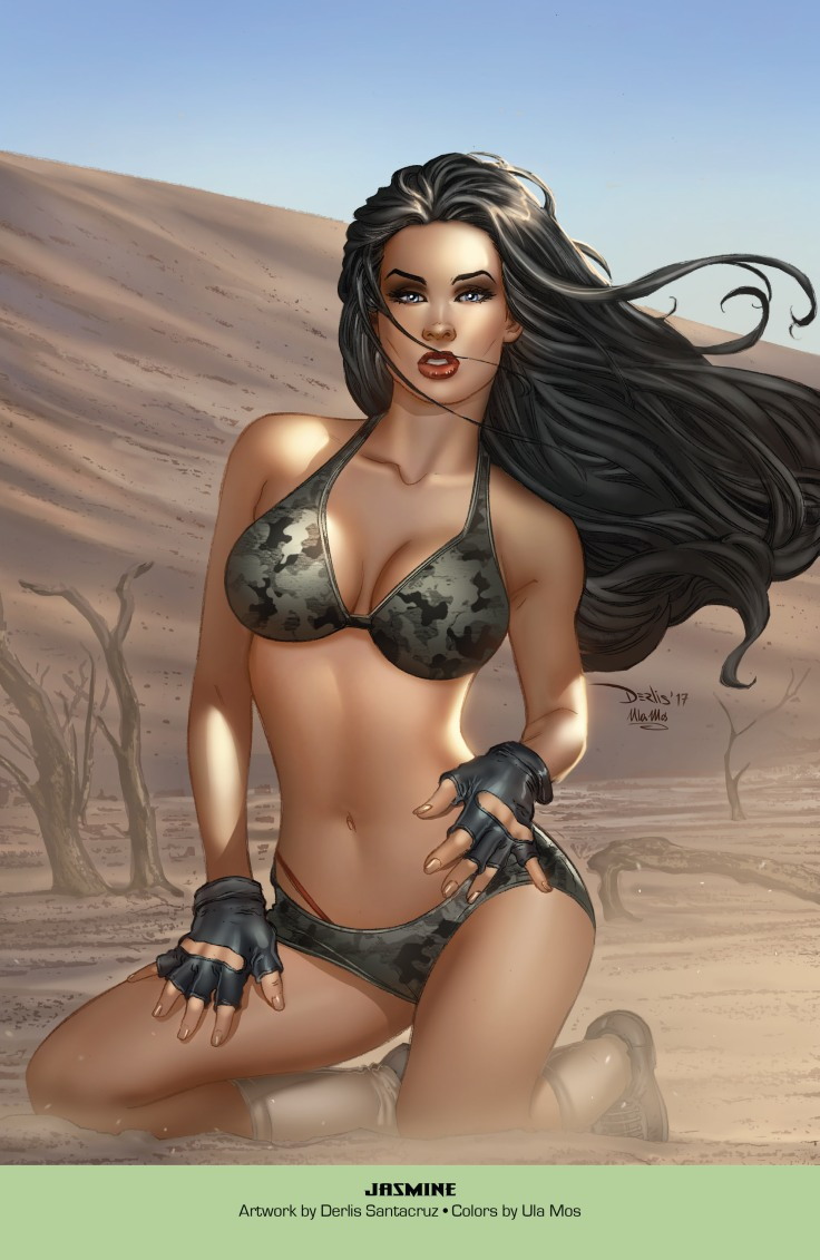 Grimm Fairy Tales 2019 Armed Forces Edition 001-039