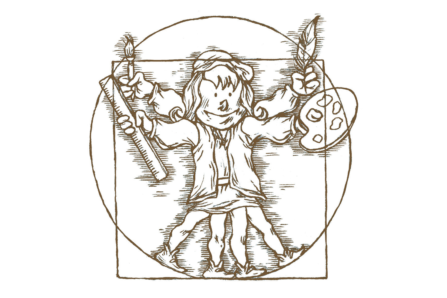 le petit leonard de vinci - les petits genies - boite a bulles logo