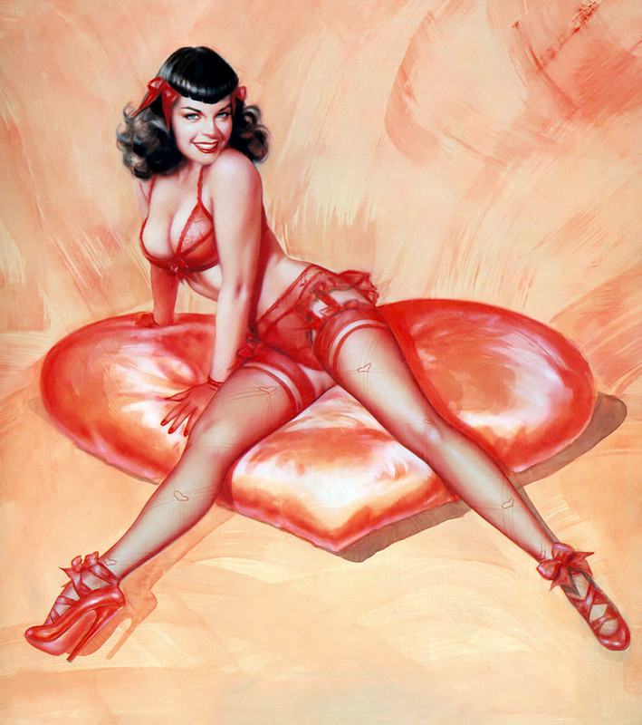 Betty_Page-Crimson_Heart