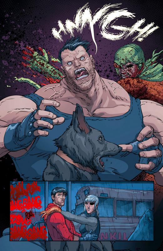 dceased unkillables-urban comics
