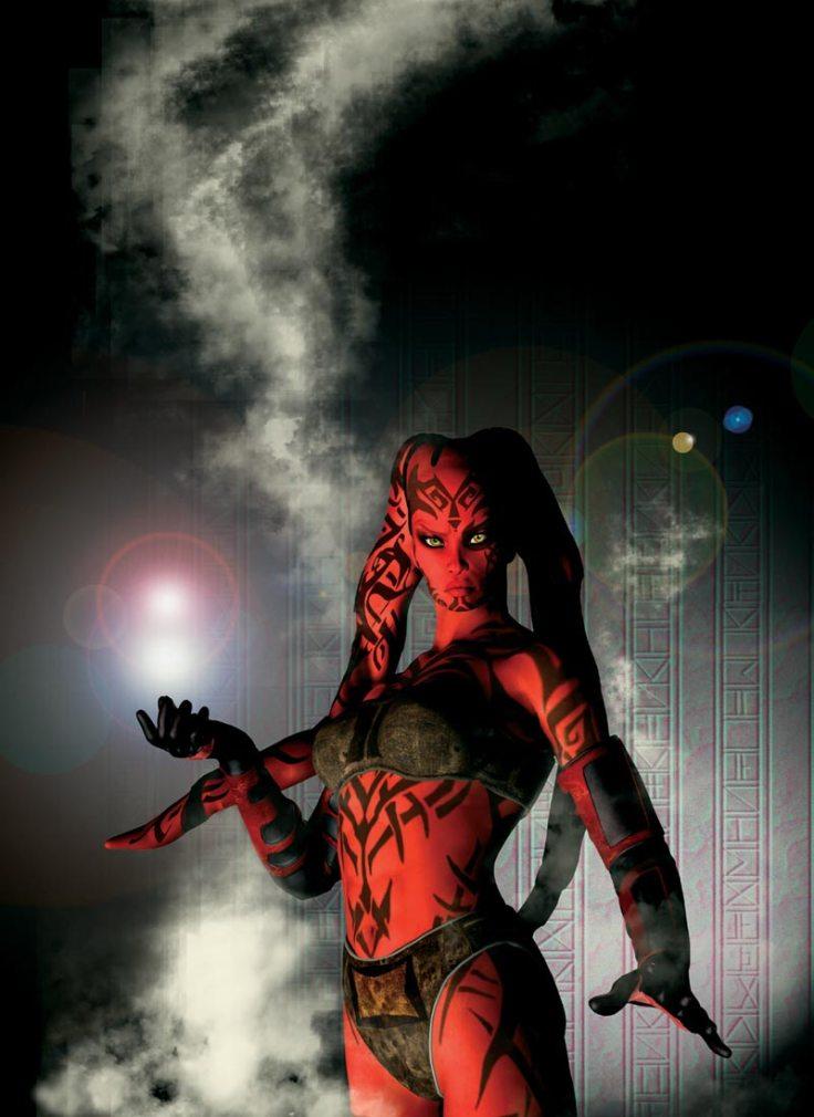 Jan Duursema - Star Wars - hot sith